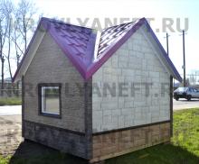 Обшивка дома фасадными панелями