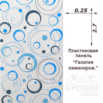 Панель пластиковая 0,25х2,70 Галатея