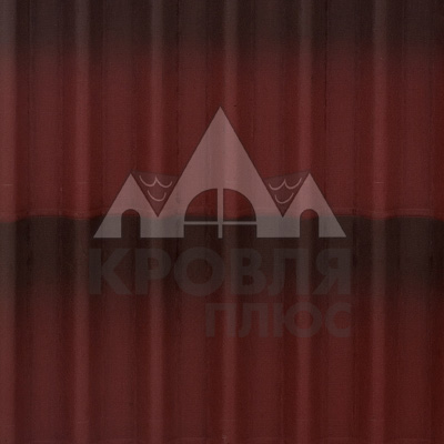 Черепица Ондулин красная 1,95х0,95 м