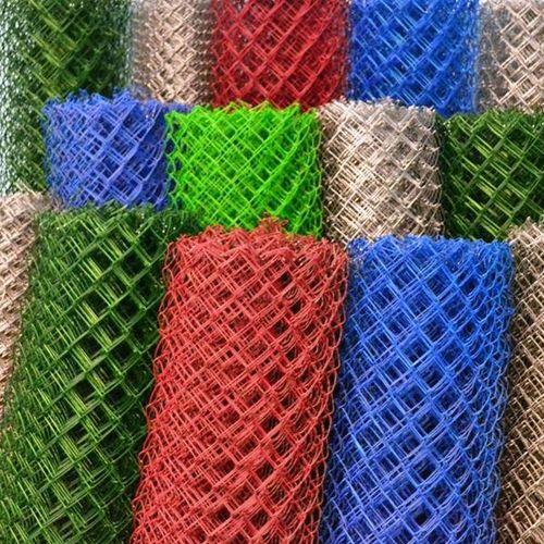 Сетка-рабица полимерная яч. 50*50/1,5/10 м 2,5 мм, зеленая