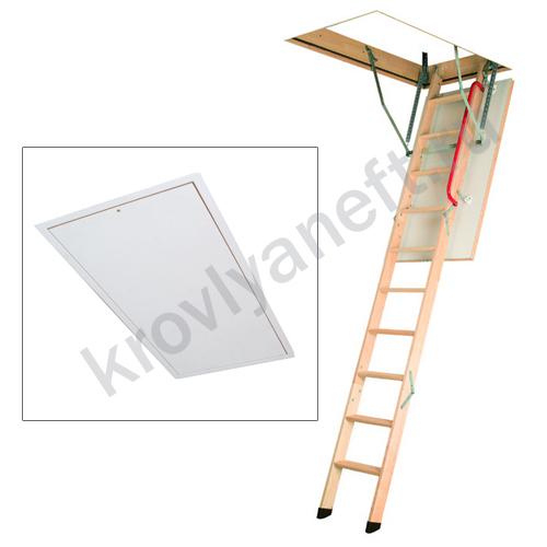 Лестница LWK Plus Komfort с люком