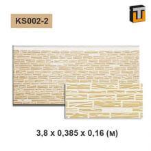 Фасадная панель Термопан KS002-2