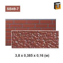 Фасадная панель Термопан SB49-7