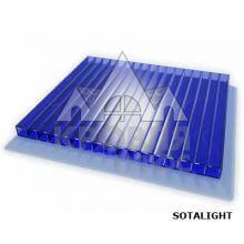 Сотовый поликарбонат 6*2100*6000 мм (синий) SOTALIGHT в продаже в Нефтекамске