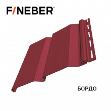 Сайдинг FineBer Plus Бордо (0,205х3,66м) 16шт/у