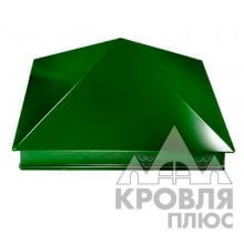 Оголовок 400х400 RAL 6005 (Зеленый мох)