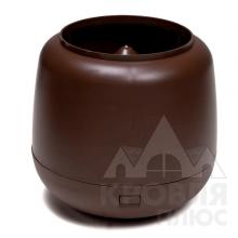 Колпак для трубы VILPE Ø110 коричневый