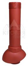 Вентиляционный выход канализационного стояка 110/500 (красный)