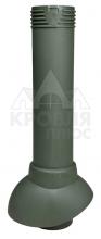Вентиляционный выход канализационного стояка 110/500 (зеленый)