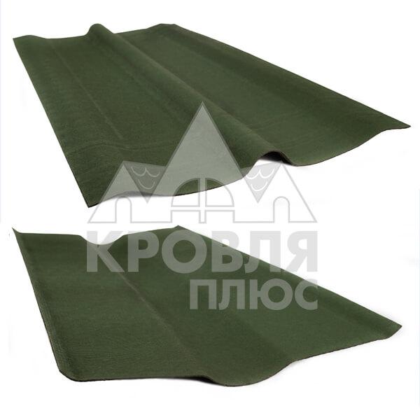 Коньковый элемент Ондулин Смарт (зелёный)