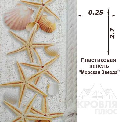 Панель пластиковая Морская Звезда купить в Нефтекамске с доставкой