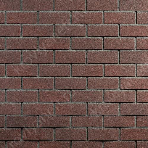 Фасадная плитка Hauberk 1000х250х3 Обожженый Кирпич (в упак. 2 кв.м.)