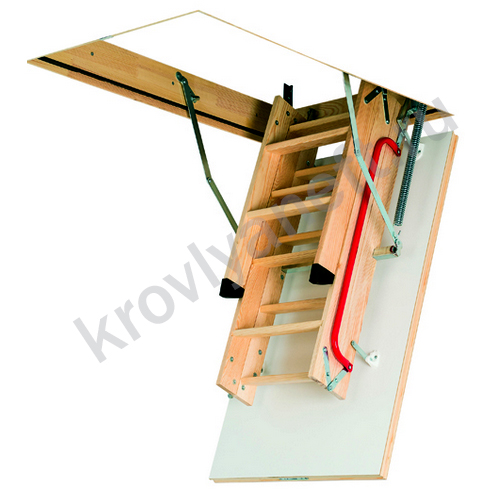 Лестница LWK Plus Komfort (в сложеном виде)
