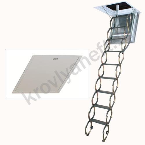 Лестница металлическая огнестойкая LSF