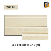 Фасадная панель Термопан Моноколор WG 60