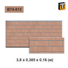 Фасадная панель Термопан B74-812