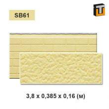 Фасадная панель Термопан SB61