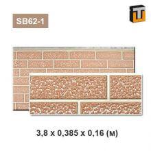 Фасадная панель Термопан SB62-1