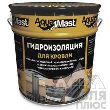 Мастика AquaMast Кровля битумно-резиновая 18 кг