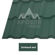 Металлочерепица Банга (Стальной Бархат) Зелёный мох 6005