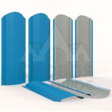 Штакетник фигурный 11 см Небесно-голубой (полиэстер, RAL 5015)