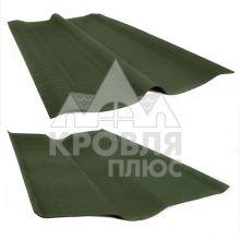 Конёк черепицы Ондулин зеленый (1 м)