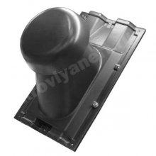 Выход вентиляции на профнастил С-21 (черный)