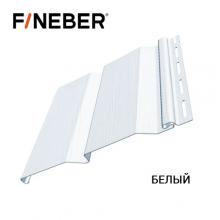 Сайдинг FineBer Д4 Белый (0,205 х 3,66 м) 16шт/у