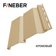 Сайдинг FineBer Д4 Кремовый (0,205 х 3,66 м) 16 шт/у
