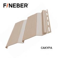 Сайдинг FineBer Д4 Сакура (0,205 х 3,66) 16 шт/у