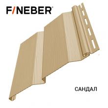 Сайдинг FineBer Д4 Сандал (0,205 х 3,66 м) 16 шт/у