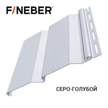 Сайдинг FineBer Д4 Серо-Голубой (0,205 х 3,66) 16 шт/у