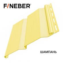 Сайдинг FineBer Д4 Шампань (0,205 х 3,66 м) 16 шт/у