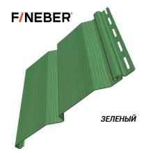 Сайдинг FineBer Plus Зеленый  (0,205 х 3,66 м) 16 шт/у