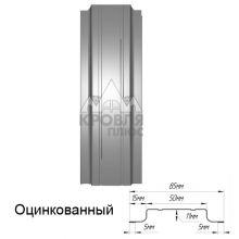 Штакетник узкий Оцинкованный 85 мм