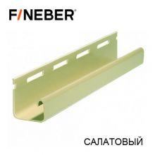 J-Профиль FineBer Салатовый 3,8 м