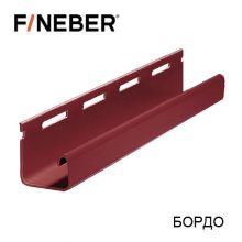J-Профиль  FineBer Plus Бордо 3,66 м