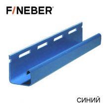 J-Профиль FineBer Plus Синий 3,66 м