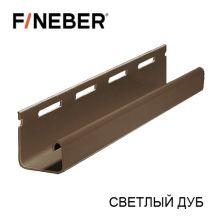 J-Профиль FineBer Plus Светлый дуб 3,8 м
