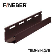 J-Профиль FineBer Plus Темный дуб 3,05 м