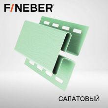 Н-профиль соединительная планка FineBer Салатовый 3,05 м
