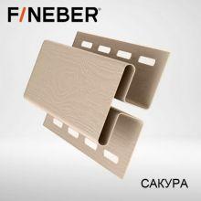 Н-профиль соединительная планка FineBer Сакура 3,05 м