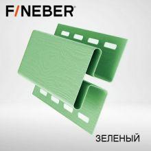 Н-профиль соединительная планка FineBer Зеленый 3,05 м