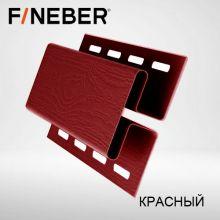 Н-профиль соединительная планка FineBer Красный 3,05 м