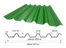 С-44 RAL 6029 Зеленая мята ш. 1,040