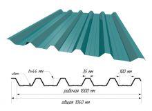 С-44 RAL 5021 Морская волна ш. 1,040
