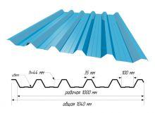 С-44 RAL 5015 Небесно-голубой ш. 1,040