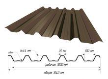 С-44 RAL 8017 Шоколад ш. 1,040